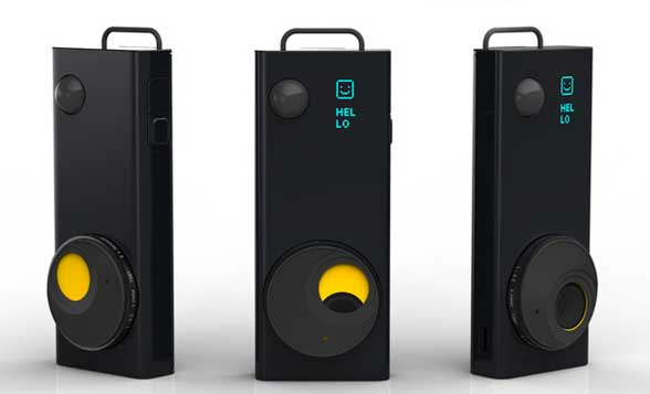 The Autographer wearable digital camera