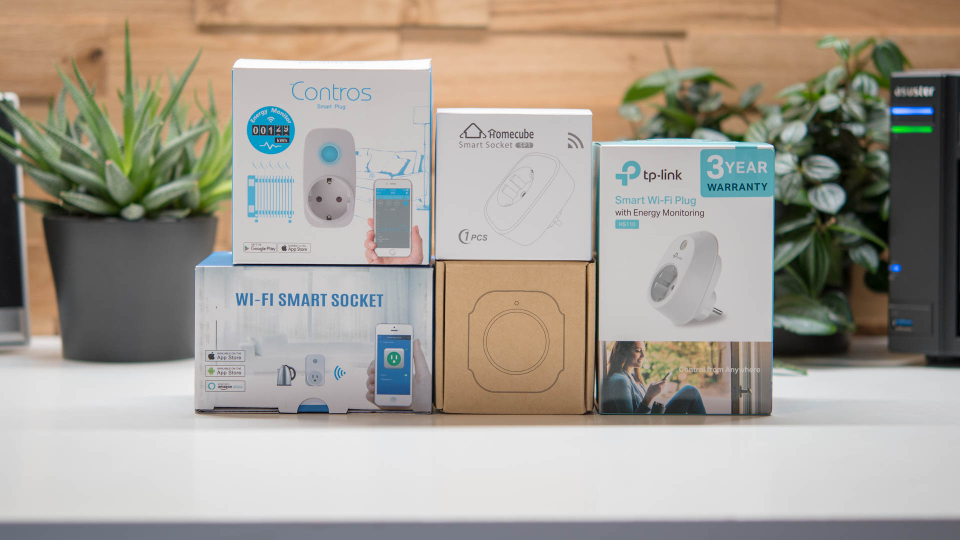 Smart Home Steuerung 5x Smart Home Steckdosen Im Test Von Tp Link Homecube Broadlink