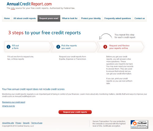 Remind Your Clients to Check Their Credit Steve Anderson\u0027s TechTips - annual credit report form