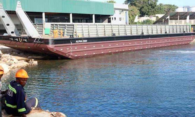 Local engineers build first ship at the Mombasa port