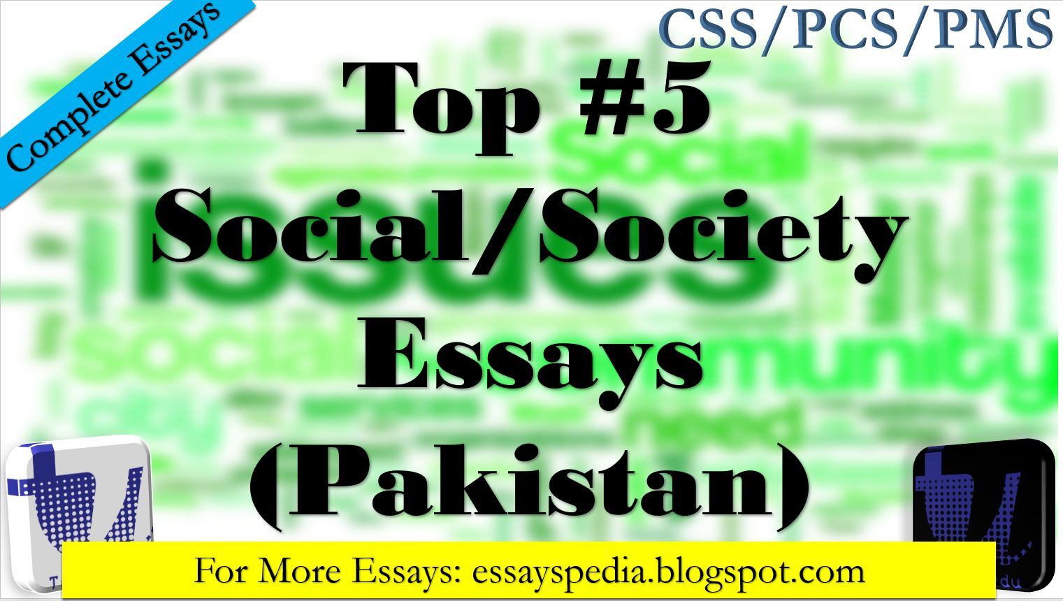 Top5 Essays On Social Society Issues Related Matters