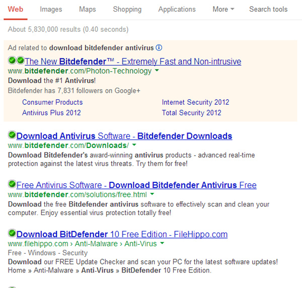 verified links Bitdefender Internet Security 2013 Review