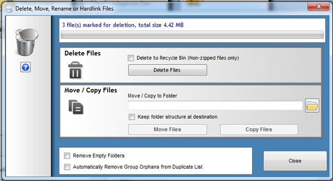 ... Duplicate Cleaner : Find and Delete Duplicate files from a Windows PC