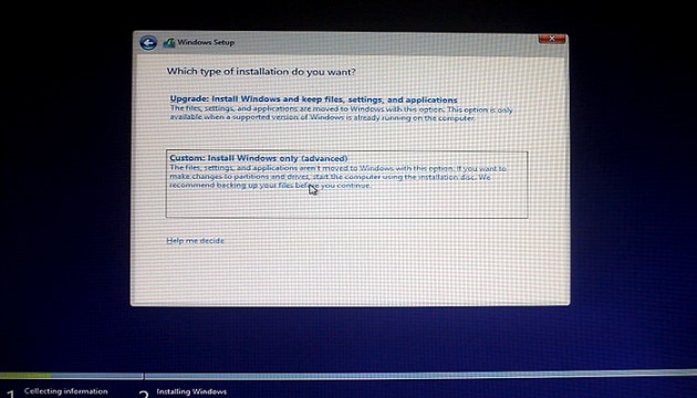 how-to-install-windows-8.1-select-custom