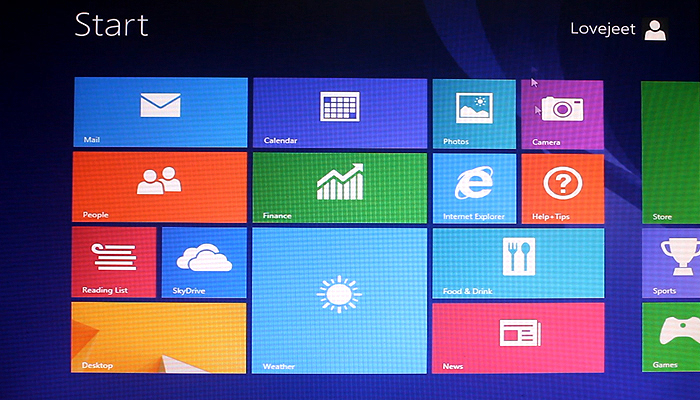 ... windows 8 1 start screen and your pc is all ready for the windows 8 1