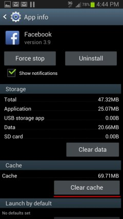 clear-app-cache-android