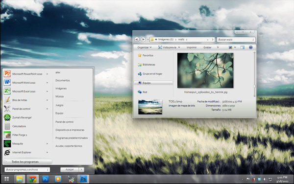 polymer for windows 7 theme 20 Best Windows 7 Themes Collection for your Desktop   February 2014