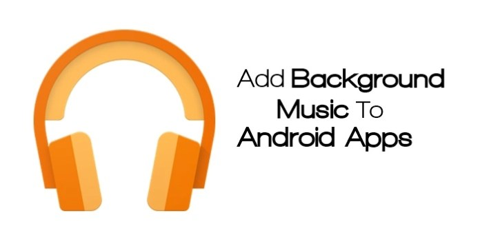 Add Background Music to Any App
