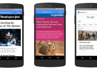 Google Will Launch Its Accelerated Mobile Webpages