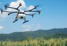 Technology Helps Farmers With Eight Rotor Drone Agras MG-1