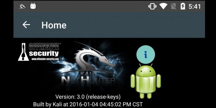 Kali NetHunter 3.0 Android Mobile Penetration Testing Platform Released