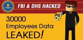 Hackers Leak Information of 30,000 FBI and DHS Staff