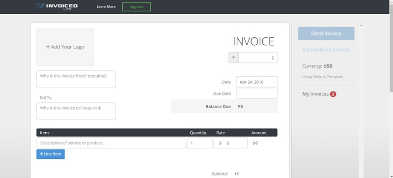 5 Best Websites to Instantly Create Invoices for Free