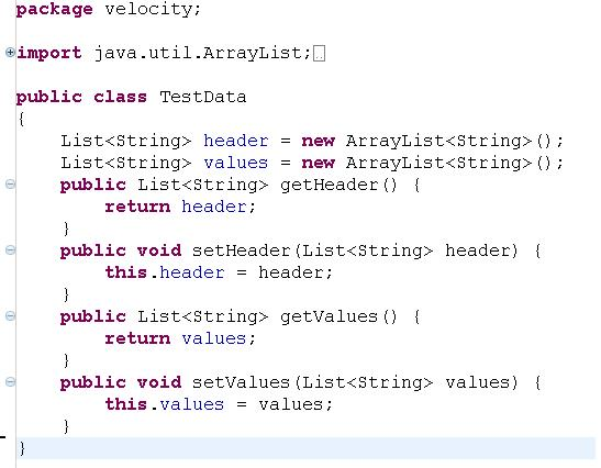Apache Velocity Vivek\u0027s Tech Blog