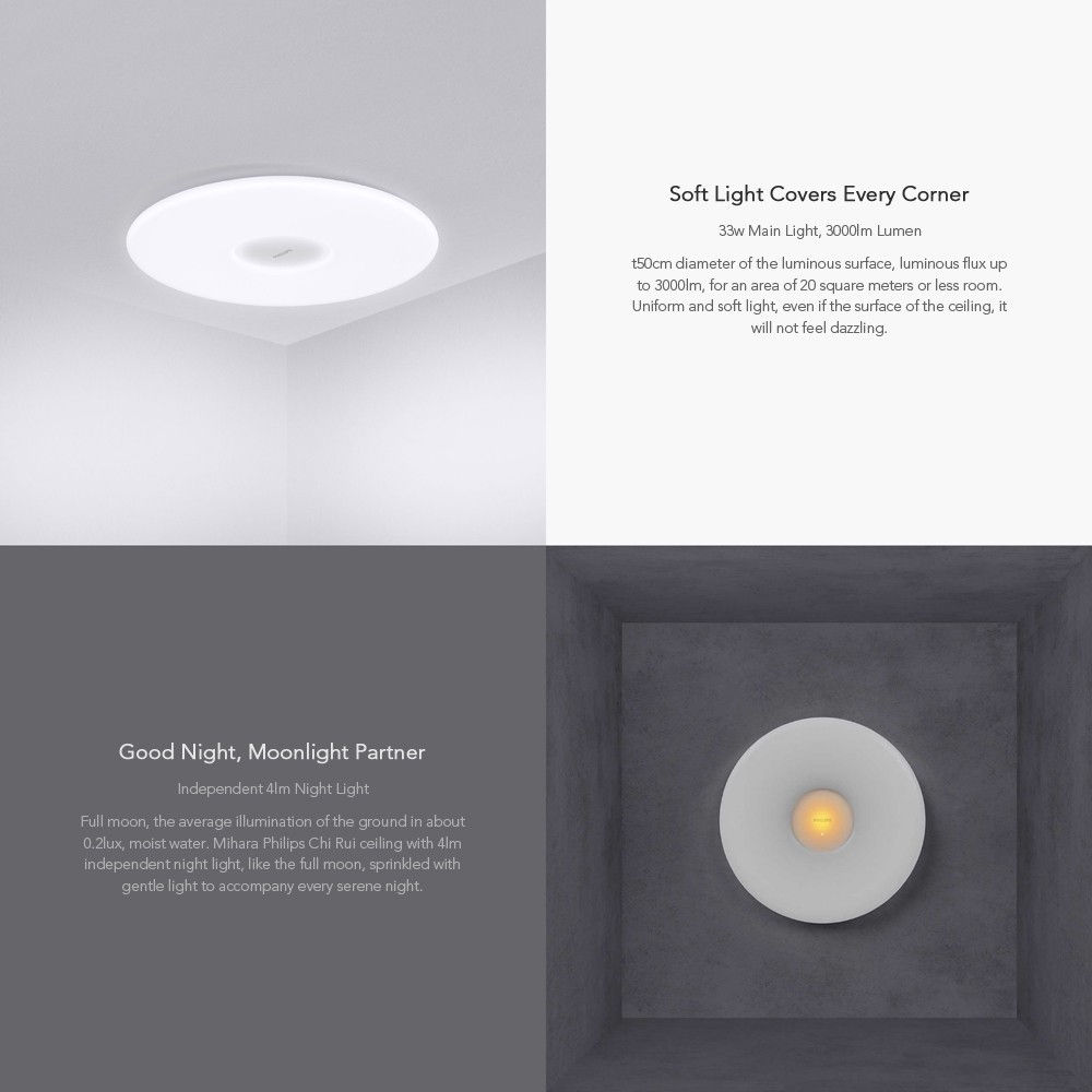 Bright Light Philips Xiaomi Mijia Philips Smart Led Ceiling Lamp What You Should Know