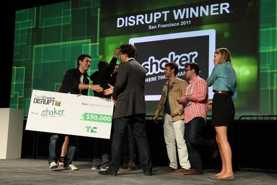 TechCrunch Disrupt優勝はShaker【湯川】