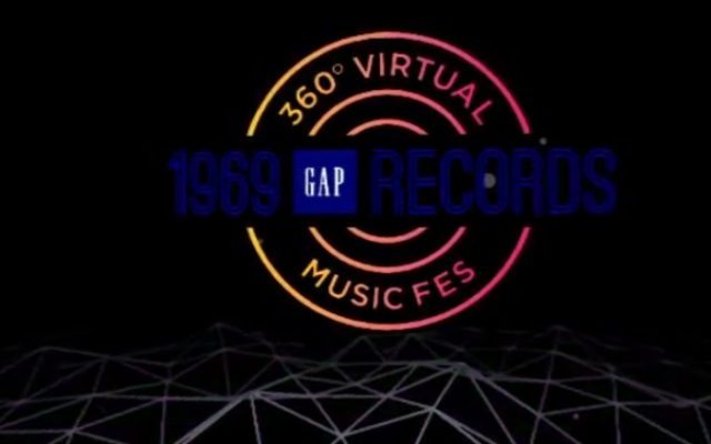 GAP Japanが 「360° VIRTUAL MUSIC FES」開催中 【@maskin】