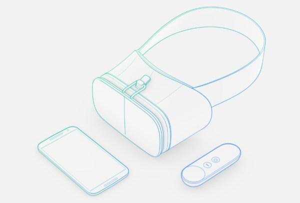 画像2: 「Google I/O 2016」にて発表された高品質なVR体験を提供するスマートフォン方プラットフォーム「Daydream」に対応したVRヘッドセットの価格が米報道でリークされた。専用のコントローラが付属され価格は79 [...] The post Google「Daydream」の高品質スマホVRヘッドセットは79ドル 【@maskin】@googlevr #io16 appeared first on TechWave テックウェーブ. techwave.jp