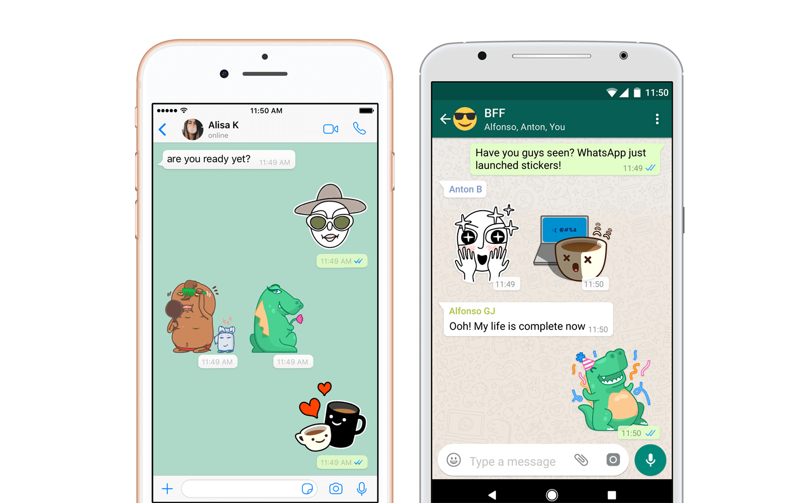 Stickers In Whatsapp Whatsapp Finally Gets Stickers And They Are Coming Soon