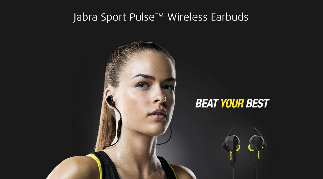 Girl Wearing Headphones Wallpaper Introducing Jabra Sports Pulse Wireless Headphones With