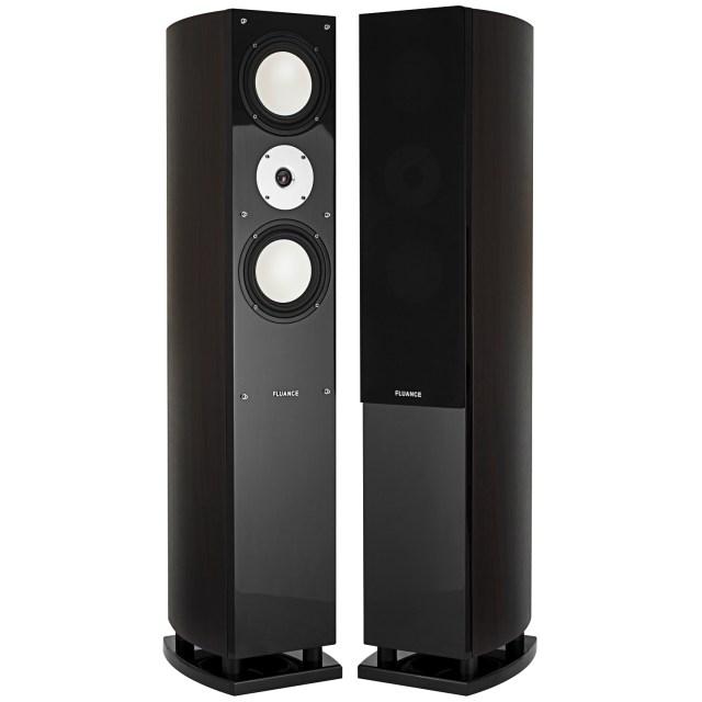 D Link NameFluance XL7F High Performance Three-way Floorstanding Loudspeakers – Dark Walnut