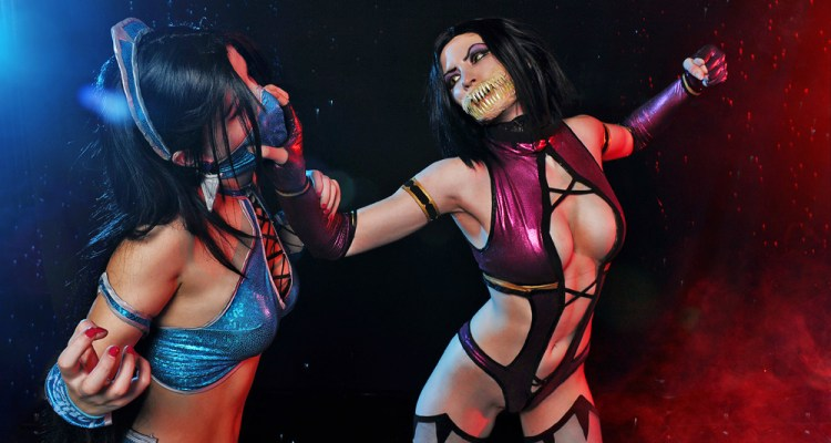 mileena_and_kitana_mortal_kombat_9_cosplay_by_asherwarr-d5q6mus