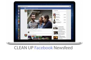 Facebook Addiction Control Part 2: Clean Up The Facebook News Feed