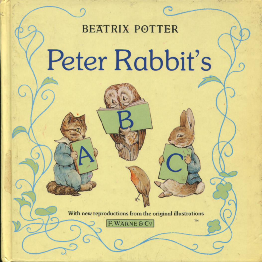 Beatrix Potter Libros Peter Rabbits Abc Tecnicolor