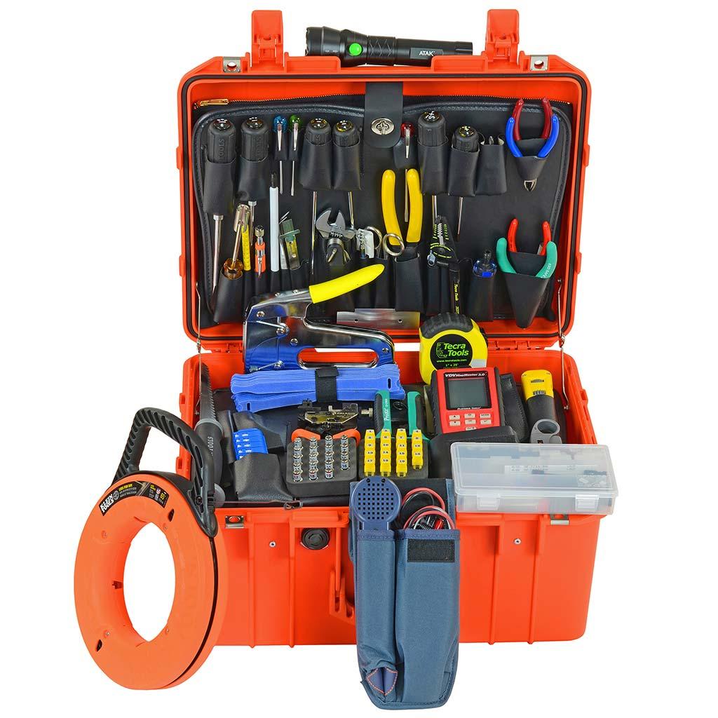 Structured Wiring Installer Tool Kit