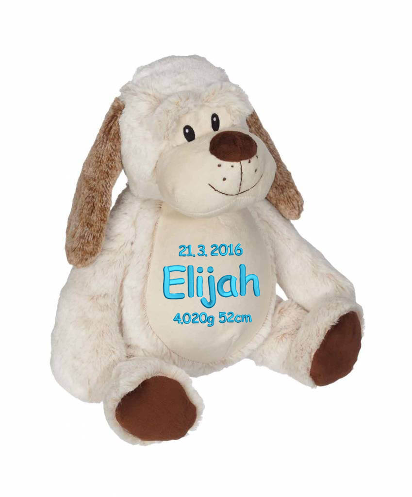 Soft Toy With Name Classic Dog 22 Inch Teddy With Name