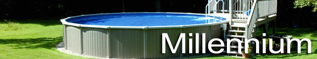 Teddy bear millennium aboveground pool teddy bear pools for Top of the line above ground pools