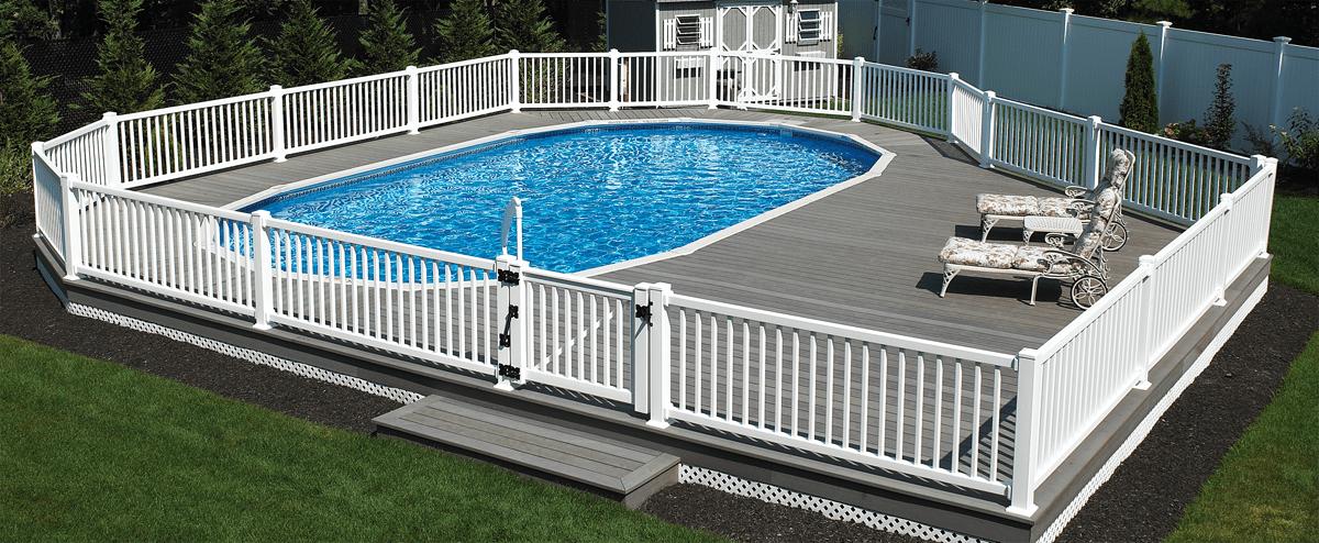 Semi inground pools teddy bear pools and spasteddy bear - How much are inground swimming pools ...