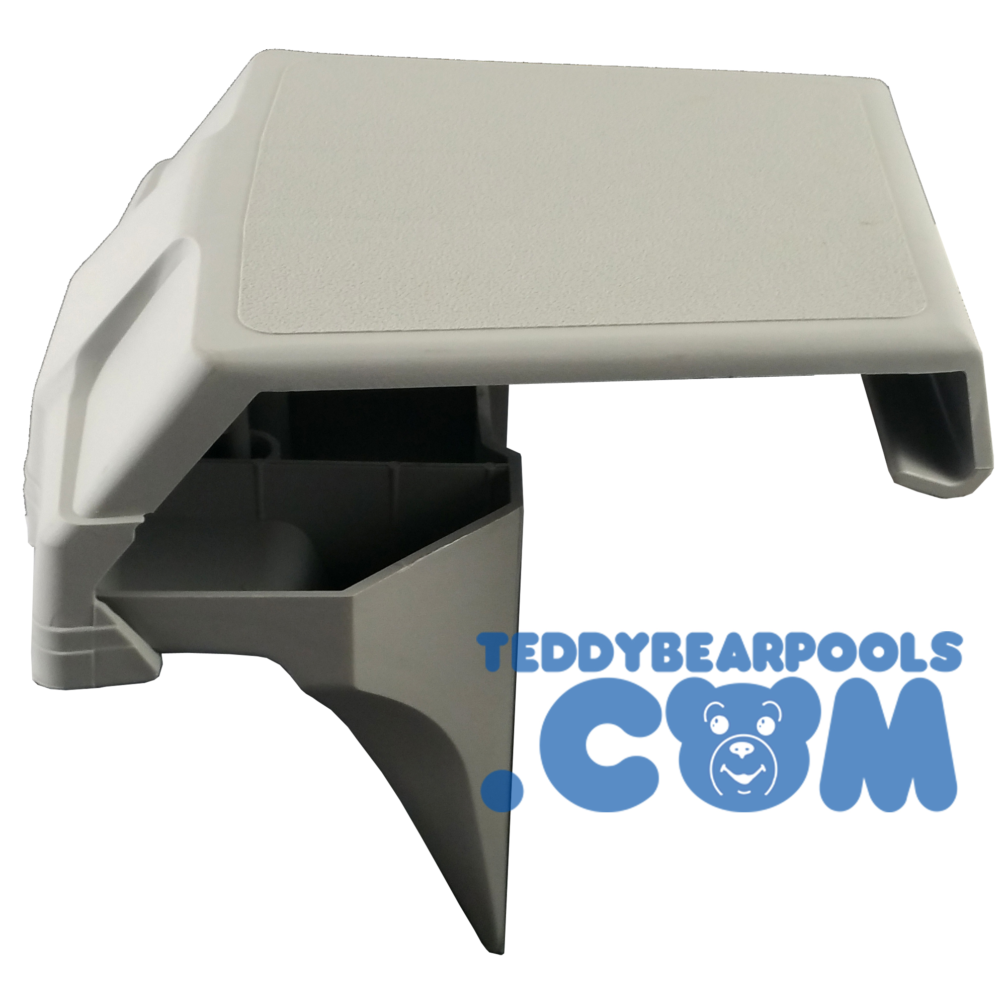 Jacuzzi Pool Top Caps Top Cap For Fusion Artesian Pools Top Bottom Gray Teddy