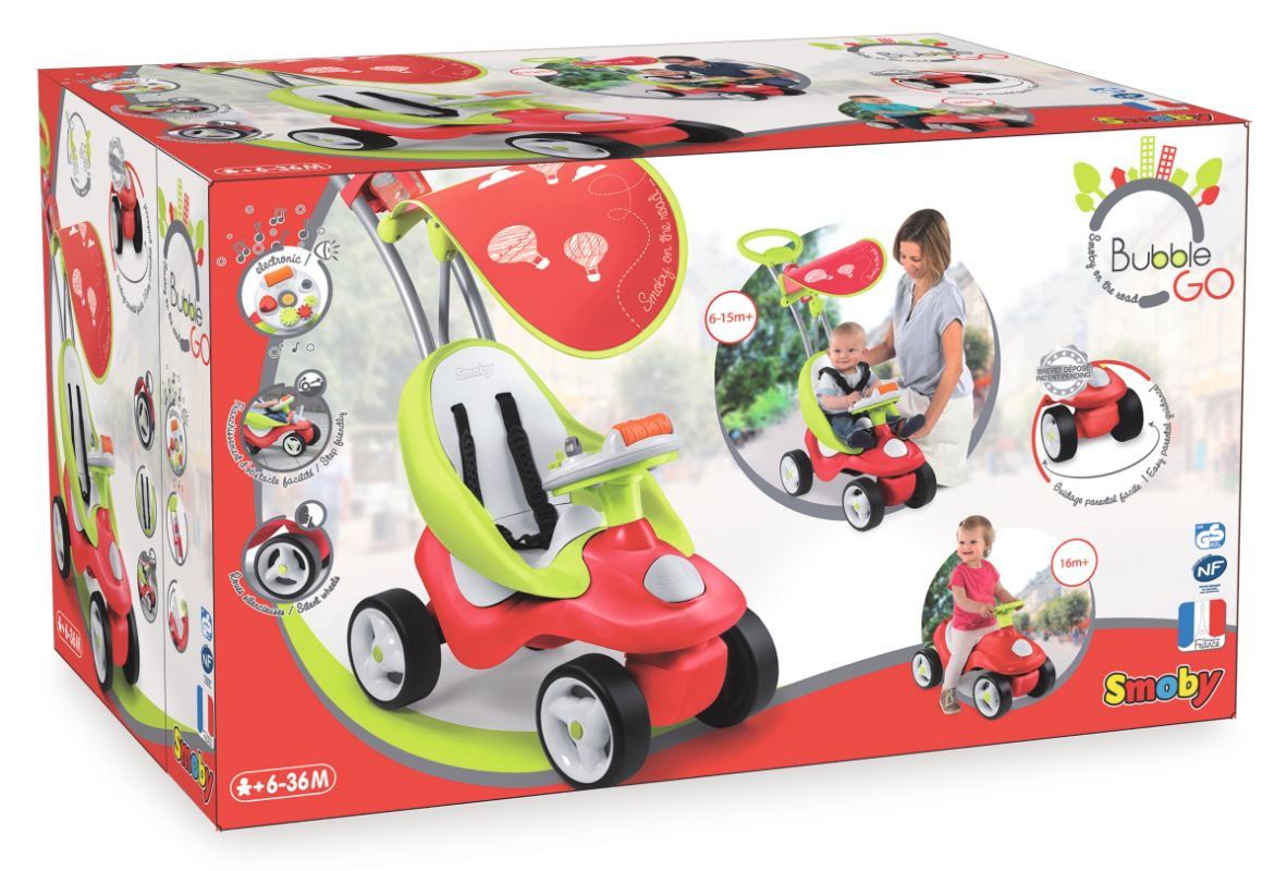 Smoby Küche Bubble Funktioniert Nicht Smoby 2 In 1 Rutscher Bubble Go Rot Teddy Toys Kinderwelt