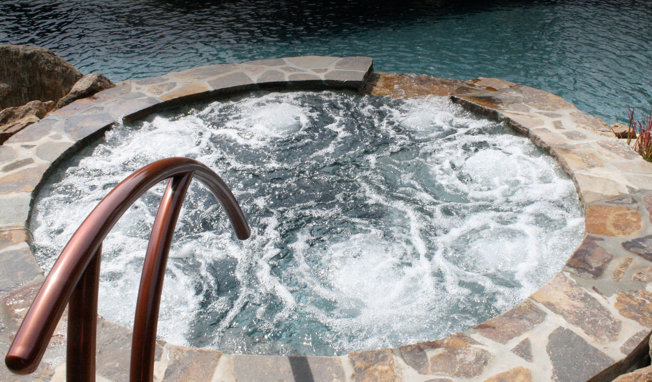 Jacuzzi Pool Design Pool Builders Swimming Pool Designers In West Chester New Hope