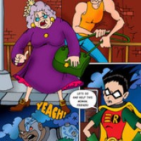 Extremely hot Teen Titans porn drawings.
