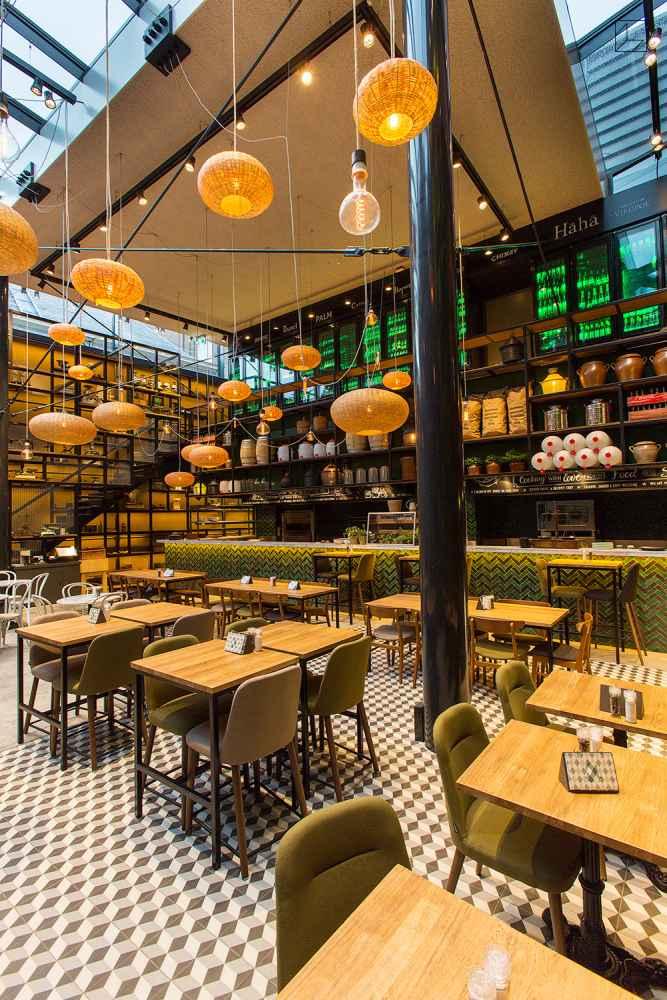 Portugese Tegels Restaurant Escher