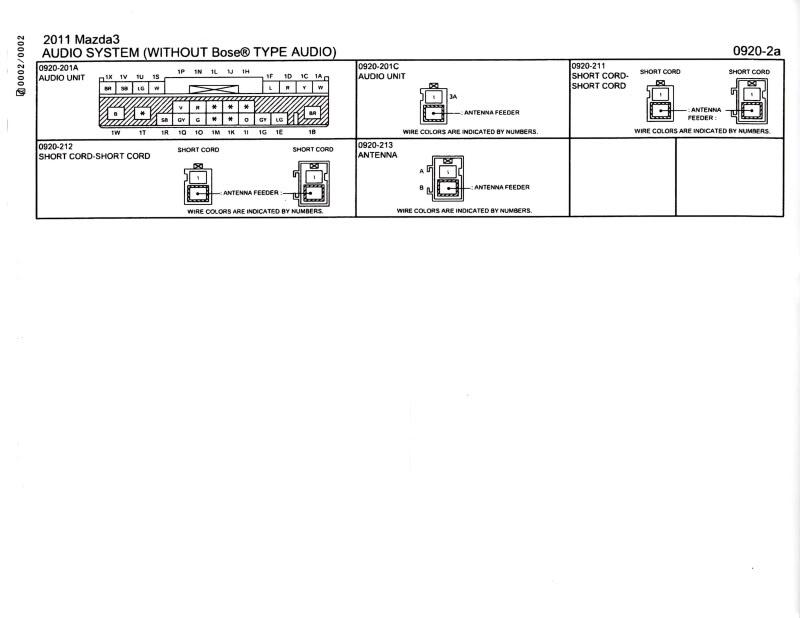 2007 Mazda Cx 7 Wiring Diagrams Manual In Addition 2006 Mazda Mx 5