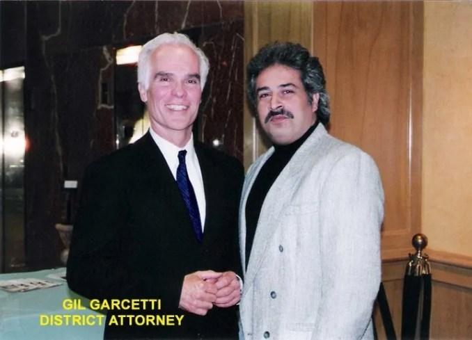 Shahbod Noori & Gil Garcetti