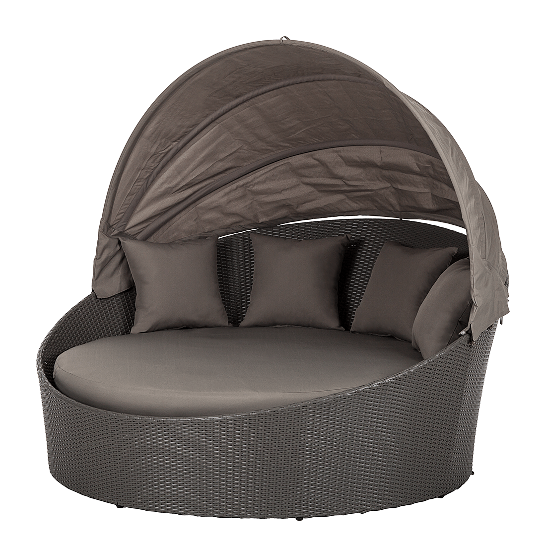 Sonneninsel Polyrattan Grau Lovechairs