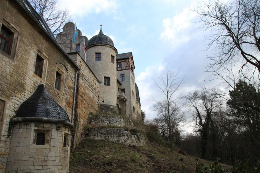Der Anlitz der Burg Tagsüber