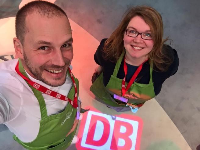 DB hat geladen #Pimpyourlunchbox. Foto von Gerhard @andersreisender.net