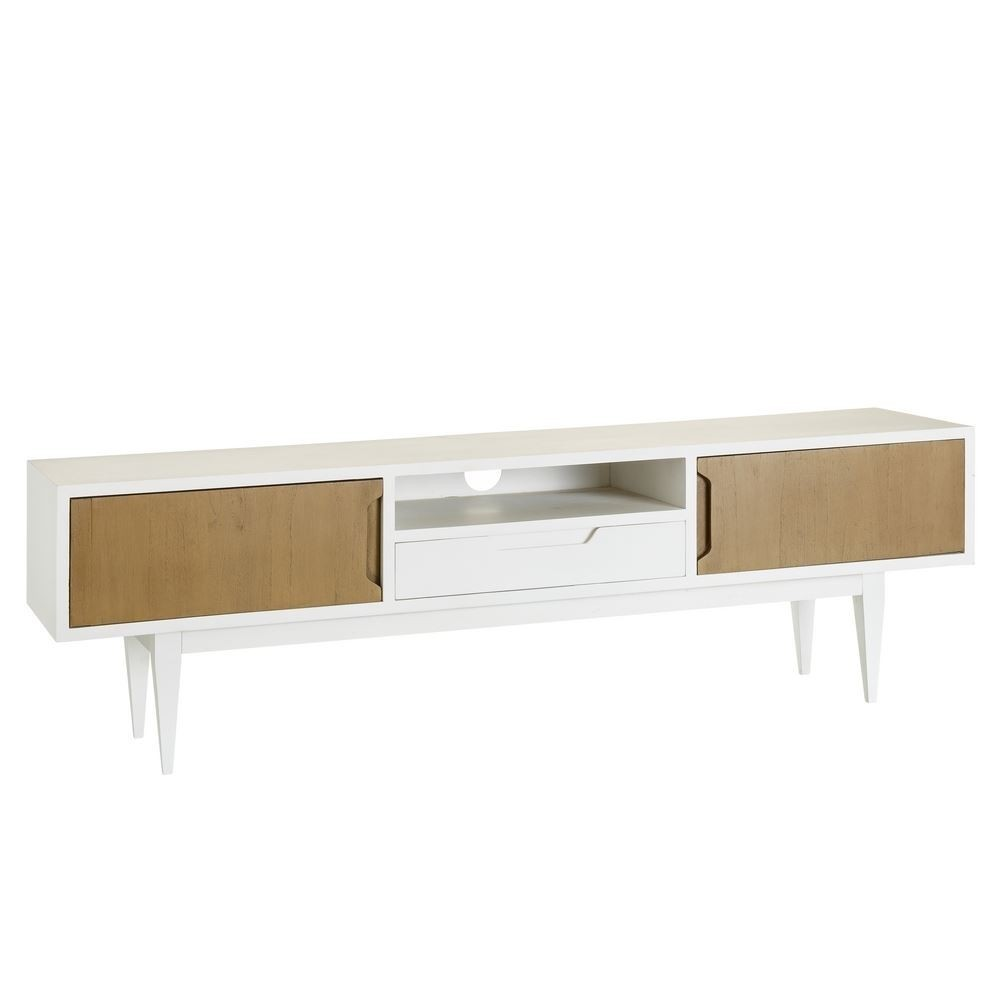 Mueble Television Blanco Mueble Tv Blanco Natural
