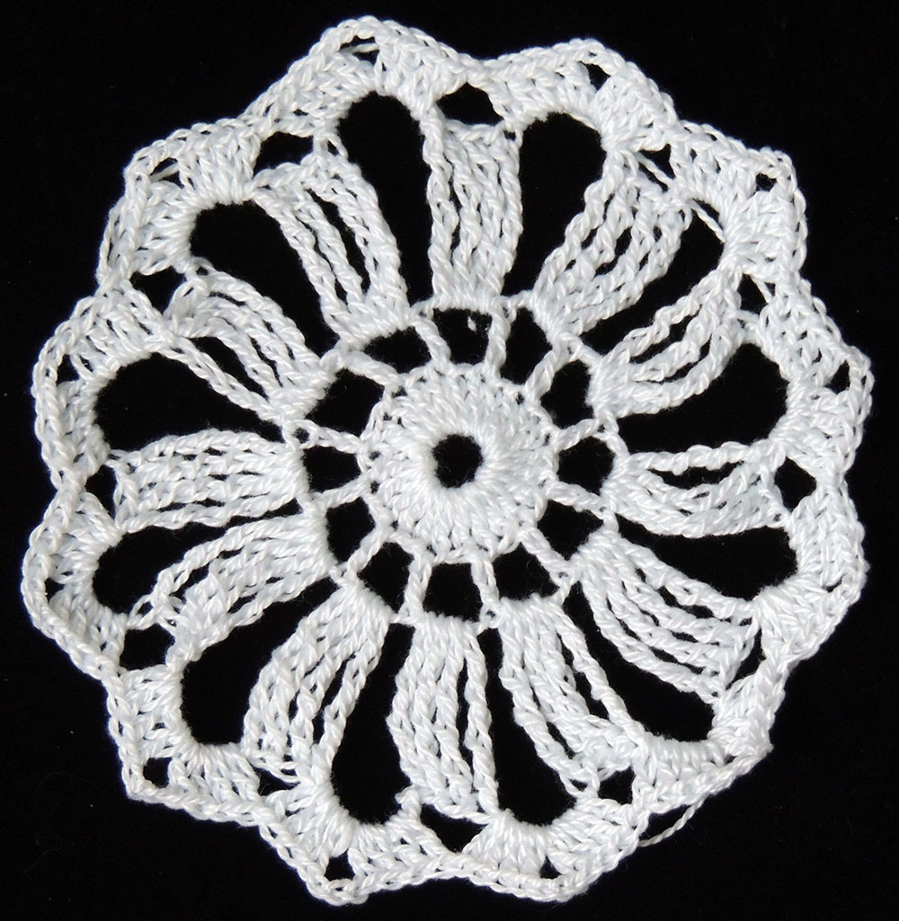 Crochet Motivo 1 12 Puntas Union Youtube | apexwallpapers.com