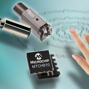 Microchip's New Turnkey Controllers for Multitouch,Proximity Detection and Haptic Feedback