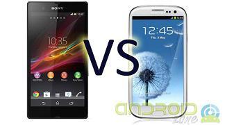 Samsung Galaxy S3 Vs Sony Xperia Z