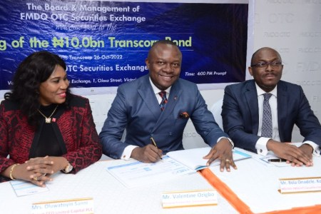 Transcorp Hotels Plc Goes To Access N10billion Bond on the NSE and FMDQ