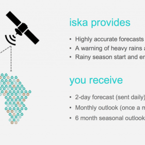 Startup is selling subscription-based weather forecast to improve crop yield in Africa