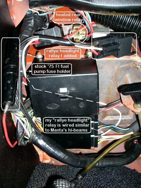 Opel Gt Fuse Box - Wiring Diagrams