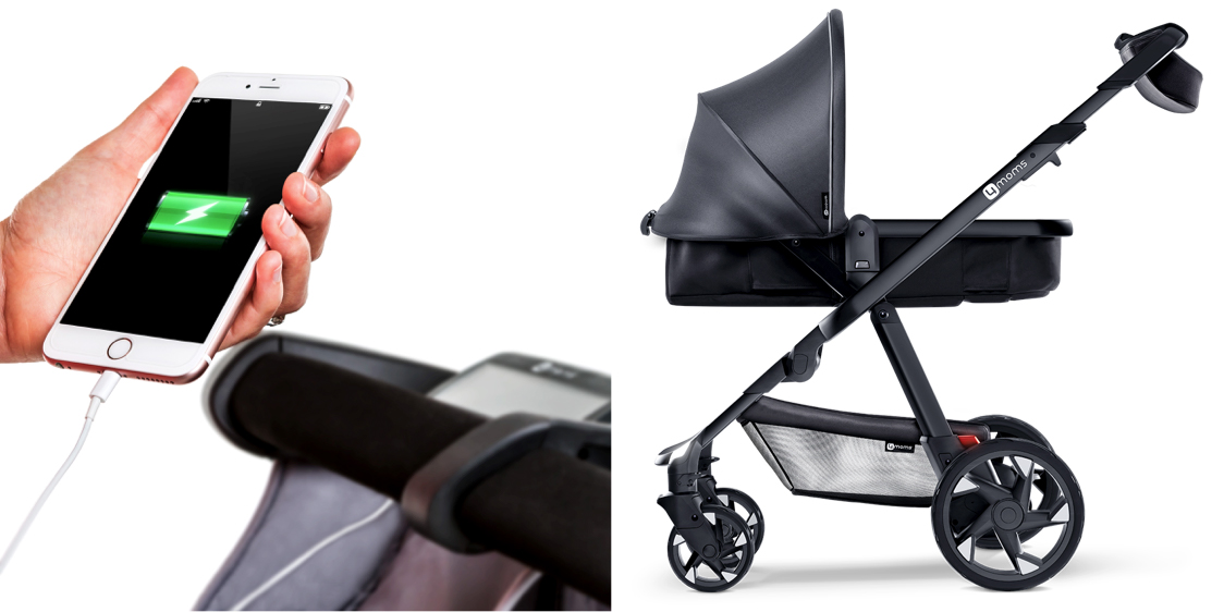charging phone baby stroller